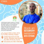 Weekend with Osteopathy class! Contact us to register!