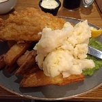 Mega Haddock,chips.Excellent!
