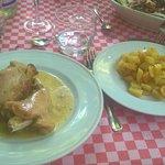 Coniglio e patate al forno