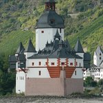 Château de Pfalz vallée du Rhin