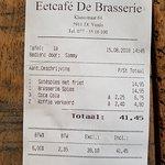 Eetcafe De Brasserie Foto