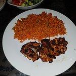 Loving the Turkish Spicy Rice...