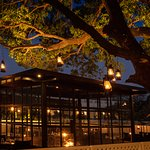 This utterly charming restaurant is located, as its name suggests, under an ancient mango tree.