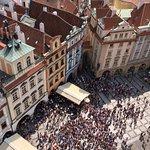 Altstädter Rathaus mit der astronomischen Aposteluhr Foto