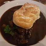 Steak, Guinness and Mushroom Pie £10.95