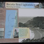 Heceta Head Lightstation trail sign!