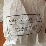 Bag Holding 43 Day Old [YUMMY] Rustic Bakery Choc-Almond Croissant