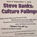 Steve Banks Exhibit Is Coming !