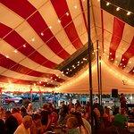 American Flag Festival Tent!