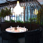 Patio Birdcage Dining