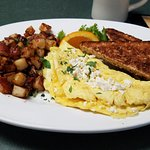 feta cheese omelet... BRUNCH served Saturday & Sunday 'til 3pm