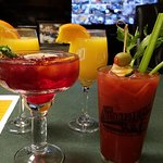 mimosas, bloody mary, sangria!  start brunch with our morning pours!