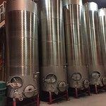 Stainless wine storage