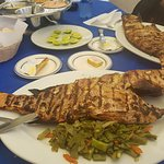 Huge Grilled Red Snapper