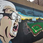 Harry Caray Mural!