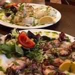 Calamares and Sepia a la Plancha