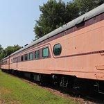 dining car at Railroad Museum