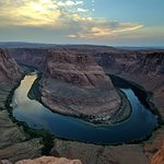 View of horseshoe bend