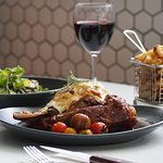 $69 Lamb Shoulder dining deal for 2 with wine
