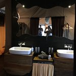 Bathroom in our tent at Kichuguu camp