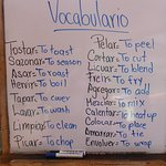 Cooking classes - all in Spanish!