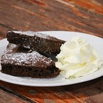 Delicious Brownies, perfect for afternoon tea!