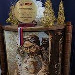 Победитель Кремлевского кубка 2012-Картина из манной крупы разной степени прожарки. Наша работа.