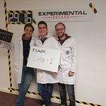 Coda team smashing The Machine at Experimental Escape