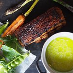 Pork belly and flavours of summer