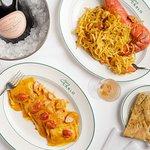 San Carlo's famous tagliolini lobster and ravioli lobster