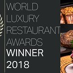 Luxury Restaurant Awards Winner in 2017 and 2018