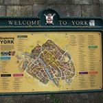 A city map of York