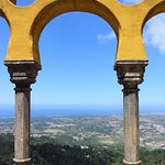 The valley from Pena Palace