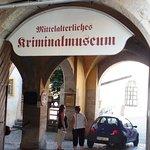 Entrata Museum Criminal medioevale