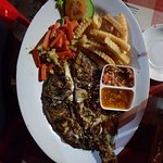 Fantastic grilled snapper (my favourite dish)