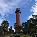 The Jupiter Lighthouse in Jupiter, FL.