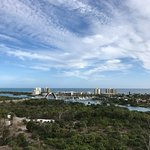 The Jupiter intracoastal waterway from the Jupiter Lighthouse.