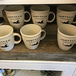 Custom mugs for sale at Oakville Grocery in Oakville.