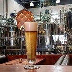 Cervejas frescas, produzidas no local