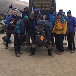 Friends and Duma Kili guides