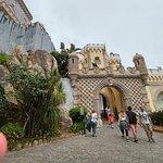 Entering the Interior Palace Walls