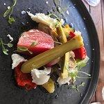 heritage vegetable salad (beets!)