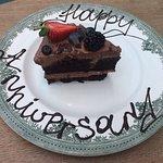 Anniversary treat courtesy of Joanna @ Court Restaurant