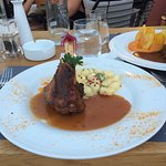Lamb Shank with gnocch