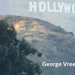 The Hollywood Sign. Photo by George Vreeland Hill