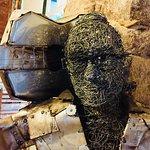 Estátua de Metal do Viniciu's