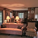 Eleanor Roosevelt's living room