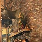 Fireplace hunting theme
