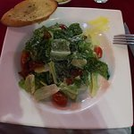 Caesar salad (sorry, already consumed the Quail egg that was on top)