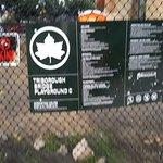 Park rules-side entrance